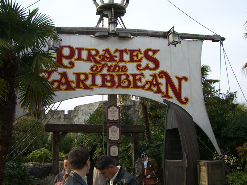 Pirates of the Caribbean Disneyland Resort Paris
